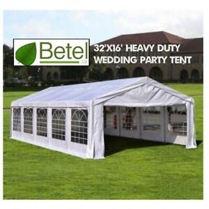 Sale | 32x16 Large Wedding Party Event Tent • 16x32 Heavy Duty Steel Tents