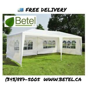Brand New 10x20 ft Wedding Party Canopy Gazebo Tents | FREE Delivery!! - 20x10 ft Party Tent Sale