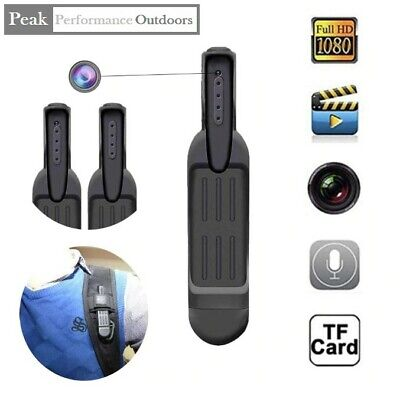 MINI Pen Camera Full HD 1080P Action Cam - Clip onto Clothes or Pocket to Record