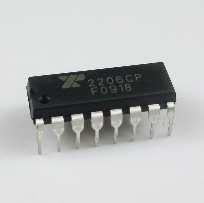 2PCS XR-2206 XR2206CP XR2206 Monolithic Generator DIP IC