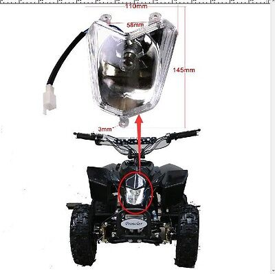 Competent Mini Kid 50 110 125cc Seat For Coolster Atv Quad Dirt Bike Motorcycle Universal Quality And Quantity Assured Atv,rv,boat & Other Vehicle Atv Parts & Accessories