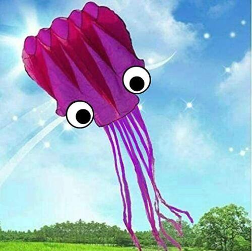 giant 18 ft beach octopus parafoil power