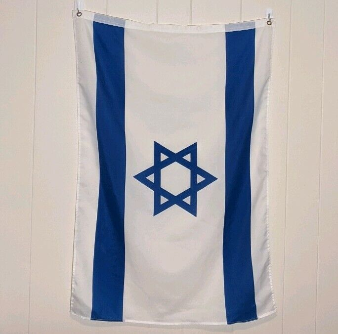 Israel Country Flag 24 x 36 Inches 2 x 3 ft feet Vertical Flag Israelite Hebrew