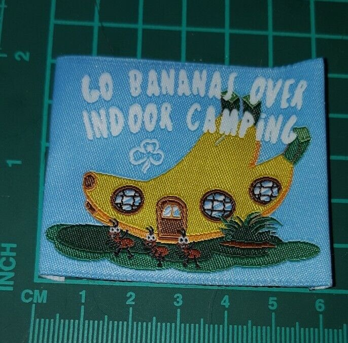 Go Bananas Over Indoor Camping Girl Guides Badge