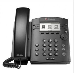 Polycom VVX 311 Desktop Phone X3