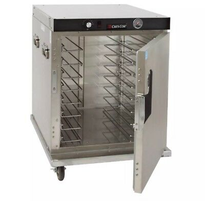 Cres Cor Half-size Insulated Mobile Heated Cabinet W 8 Pan Capacity Model H-339