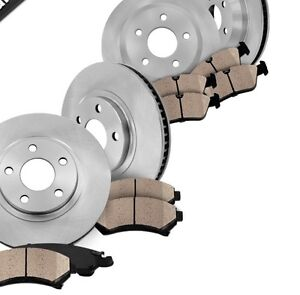 Front and rear Rotors &Brake Pads