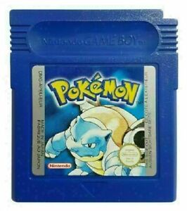 pokemon blue gameboy game game boy color