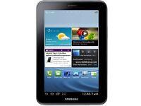 "Samsung Galaxy Tab 2 Tablet 7"" Black 8GB (GT-P3110) *Grade A* With Dock"