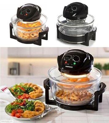 New Deluxe Halogen Air Fryer Oven Cooker Low Fat Healthy Diet Lean Kitchen Home