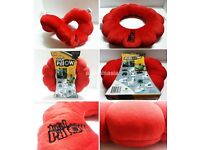 Total travel pillow red