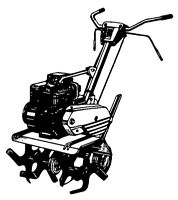 Roto tilling Flower beds and Gardens