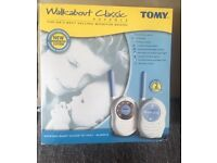 TOMY WALKABOUT CLASSIC BABY MONITOR