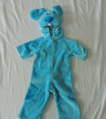 NEW Boys Dog Blue's Clues Blue Halloween Costume - Blues Clues Halloween
