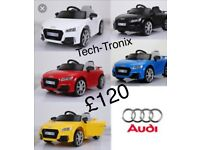 Audi TTRS 12v, Parental Remote & Self Drive, Ride-On