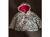 9-12M baby girl Winter Coat