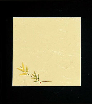 100 Sheets! Japanese Kaishi Paper: Decorative Table Mat: Bamboo 15 x 15 cm