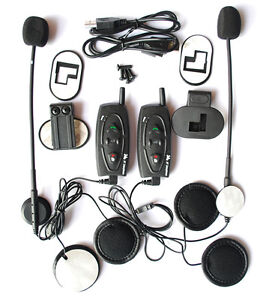 2x-500m-Bluetooth-BT-Motorcycle-Helmet-Headset-Intercom