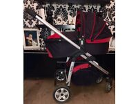 Icandy cherry pushchair and carry cot