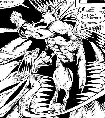 Original Comic Book Art DOCTOR FATE #4 Page 21  SHAWN. Mc MANUS