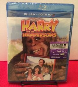Harry and the Hendersons (Blu-ray+HD Digital)NEW-Free Shipping with Tracking