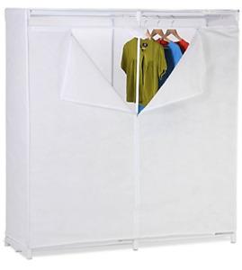 NEW Clothing Rack Closet - Covered Garment Rack -Portable Closet