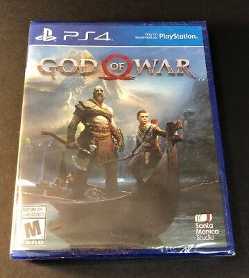 God Of War   Region Free     Ps4  New