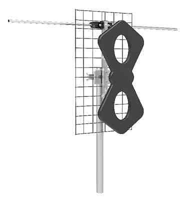 New Focus Antennas BEST-2V HD Long Range Outdoor HDTV UHF/VHF Antenna 65