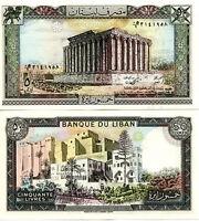 Libano - Lebanon 50 Livres 1988 Fds - Unc -  - ebay.it