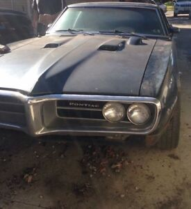1967 firebird 400 project -read entire ad if serious buyer