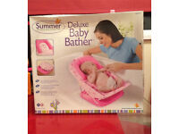 NEW Summer Deluxe Baby Bather Pink