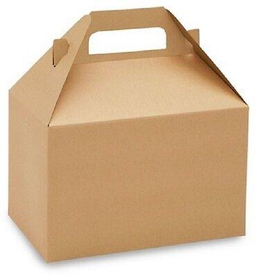 Uline Gable Boxes KRAFT 8