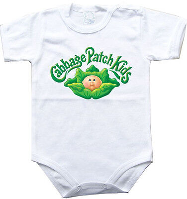 Baby bodysuit cabbage patch kids 1 One Piece jersey bib Halloween costume CPK