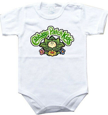 Baby bodysuit cabbage patch kids 2 One Piece jersey bib Halloween costume CPK