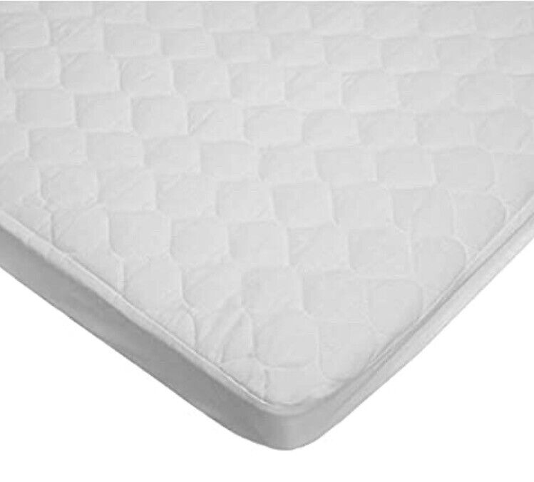 American Baby Co. Waterproof Quilted Cotton Bassinet Fitted Cradle Mattress Pad