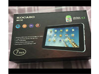 Kocaso 7inch tablet. Nearly new in box with all accessories