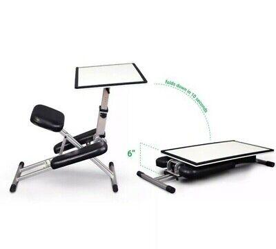 The Edge Desk System - Foldable & Portable Ergonomic Standalone Desk RRP...