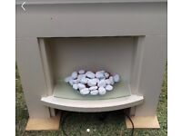 Electric fire place &afire surround need gone asap