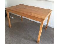 Ikea Jokkmokk dining table