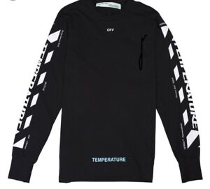 Off-White Diag Temperature Long Sleeve (Small)