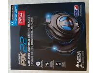 Turtle Beach PX22 Amplified Universal Gaming Headset (wired) PS3, PS4, XBox 360, PC, Mac, Mobile