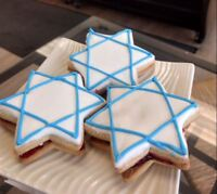 Star of David Character Imperial Cookies by Goodies Bakery Winni