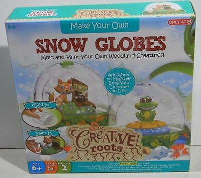 Creative Roots Make Your Own Snow Globe (Make Your Own Snow Globe)