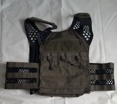 (Eagle Industries TACTICAL ULTRA LOW-VIS PLATE CARRIER Ranger Green Small JPC)
