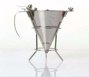 Stainless Steel Chocolate Funnel 1.5 Liter Butter Funnel  NO.239081