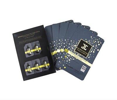 JAYJUN Cosmetics Pack of 5 Gold Snow Black Mask 25ml + serum 1ml - Made in Korea