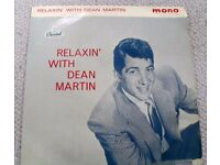 DEAN MARTIN: RELAXIN' WITH. 1961 PICTURE SLEEVE EP