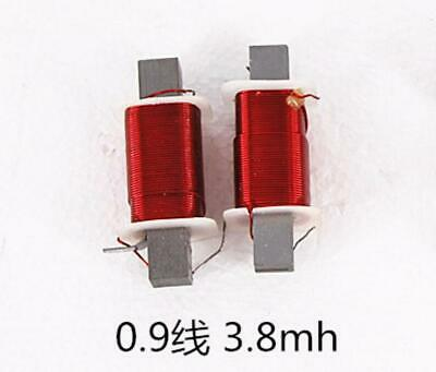 0.9mm 3.8mh Audio Crossover Inductors Coils Oxygen Free Copper Coil Hifi Parts