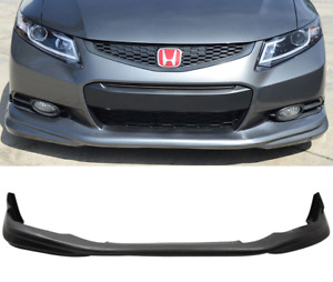 12-13 Honda Civic 9th 2Dr Coupe MD Style PU Front Bumper Lip