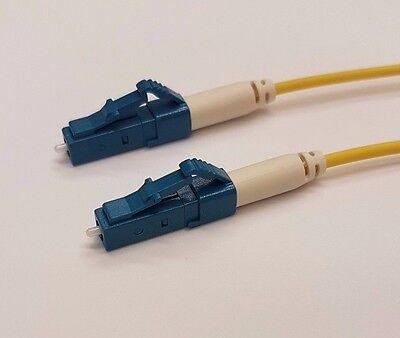 1 Metre LCUPC-LCUPC Fibre Optic Patch cord OS2 Singlemode Simplex G657A2 LSZH